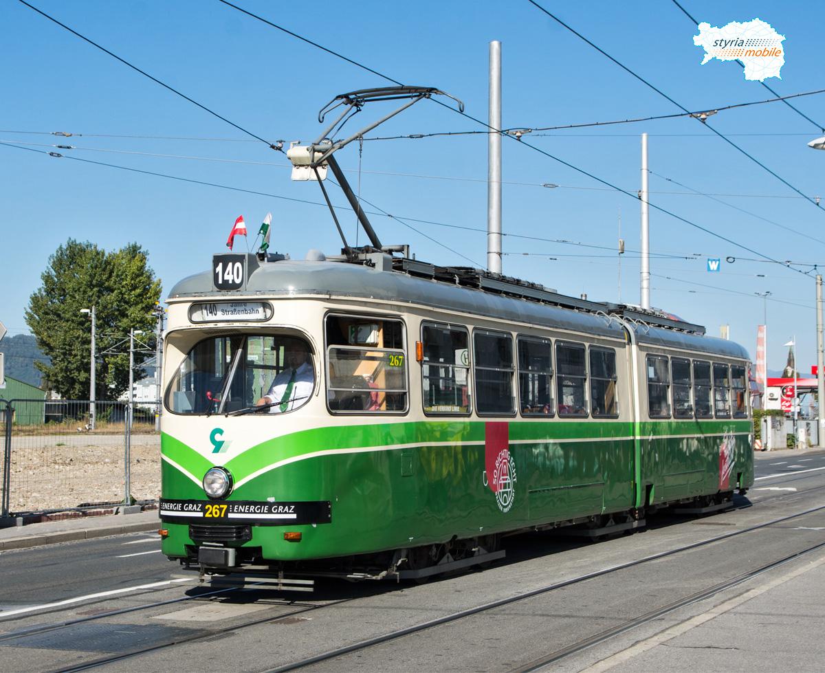 140  Jahre Straßenbahn in Graz | © Patrick Köck