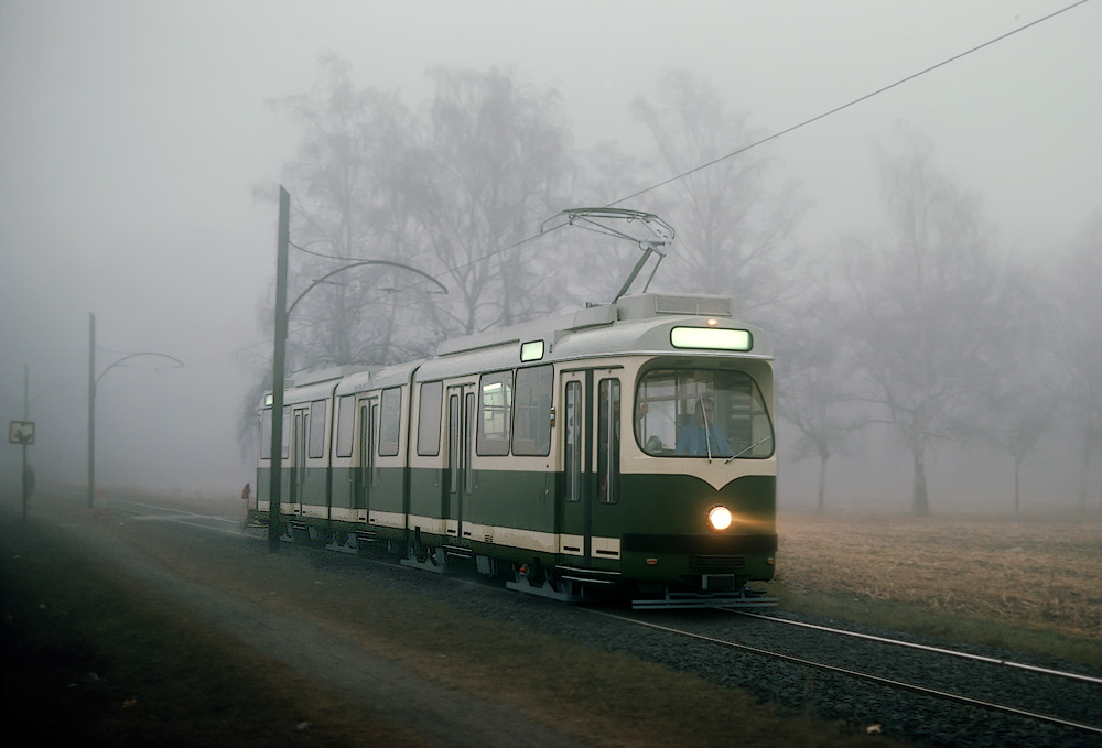 Bremsprobefahrt TW 501 ©styria-mobile/Fotograf02 15.01.1978