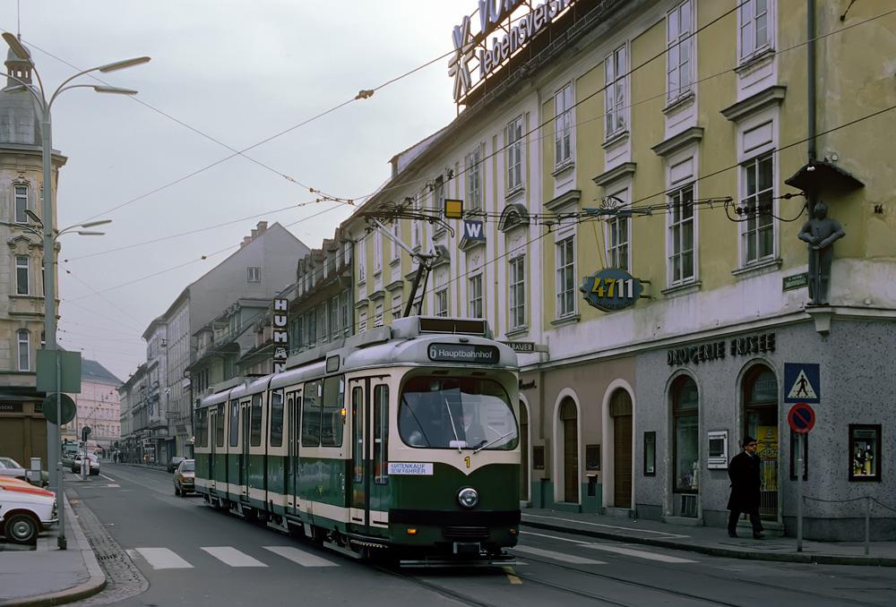 """TW 501 im """"Allerheiligeneinsatz"""" ©styria-mobile/Fotograf02 01.11.1979"""