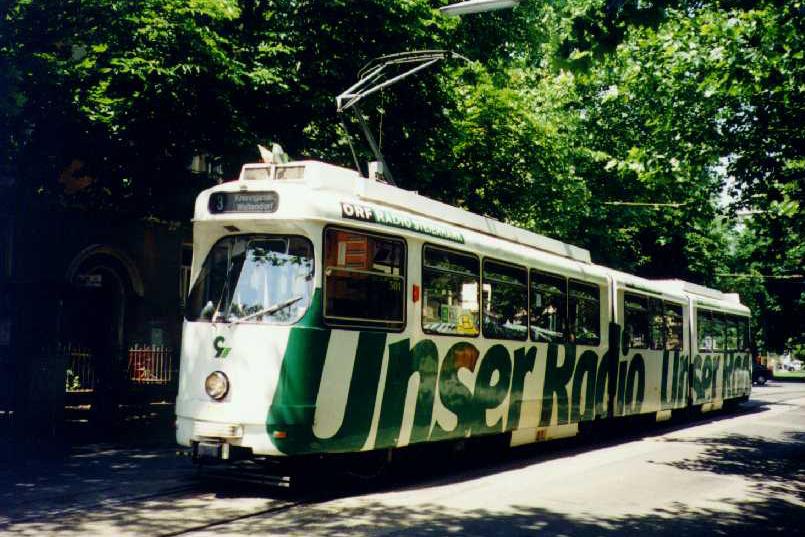 TW 501 in der Krenngasse 29.06.1997©styria-mobile