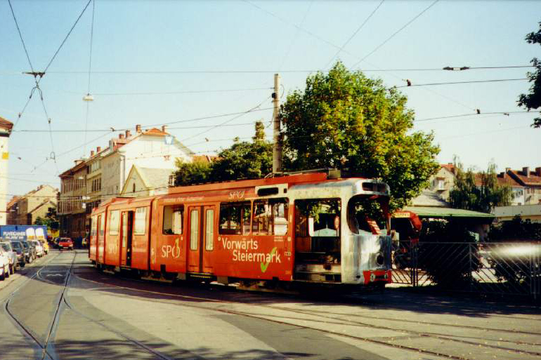 TW 508 nach der Reparatur (LKW-Unfall) 06.10.1997©styria-mobile