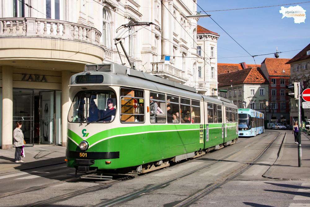 TW 501 gefolgt von CR 667 am Eisernen Tor 10.04.2009 ©styria-mobile