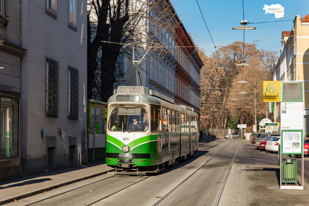 TW 510 in der Mayffredigasse 07.12.2017 ©styria-mobile
