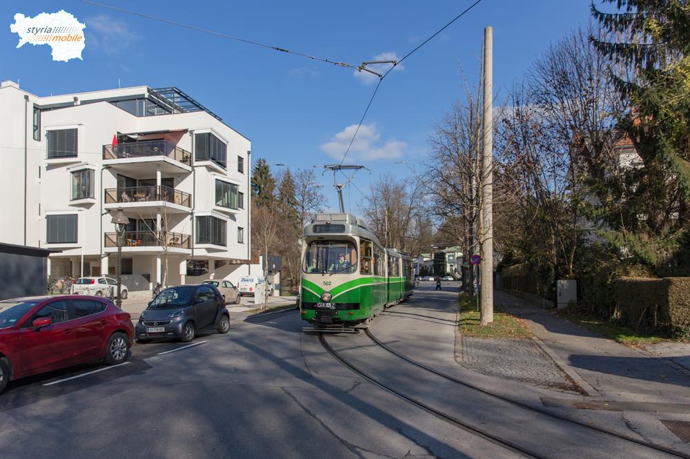 TW 502 in der Schubertstraße 14.11.2016 ©styria-mobile
