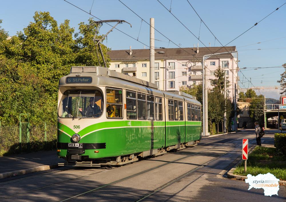 TW 506 in der Asperngasse 29.09.2015 ©styria-mobile