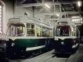 Die beiden zuletzt gelieferten TW 509 und 510 ©styria-mobile/Fotograf02 01.11.1978