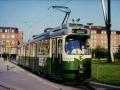 TW 503 am HBF 29.04.1990 - In dieser Lackierungsvariante waren nur TW 501 und 503 unterwegs ©styria-mobile/User: 1216.238