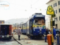 Am 25.02.1997 entgleiste TW 507 in der Haltestelle Alte Poststraße ©styria-mobile