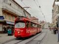 TW 508 als 14er am Südtirolerplatz, 04.08.1998 ©styria-mobile
