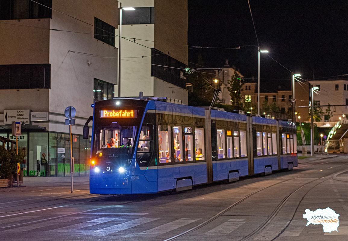 2501 - Testfahrt  - ©581er - Riesplatz