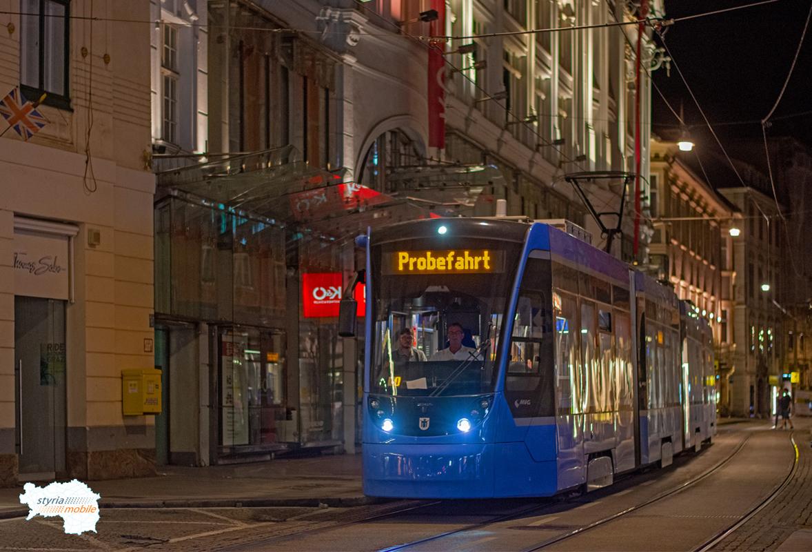 2501 - Testfahrt  - ©581er - Sackstraße
