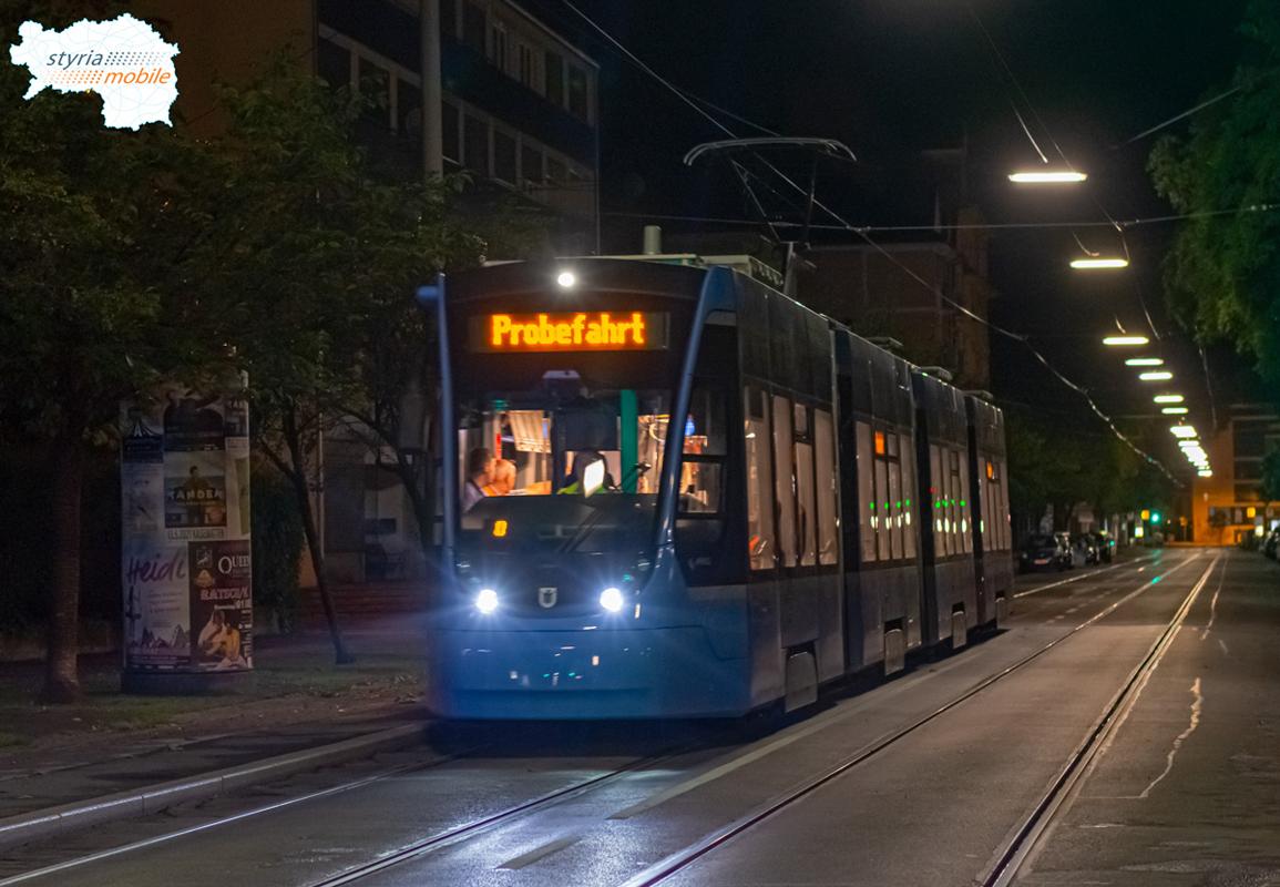 2501 - Testfahrt  - ©581er - Theodor-Körner-Straße