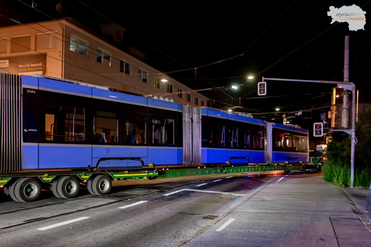 Anlieferung Avenio 2501 aus München
