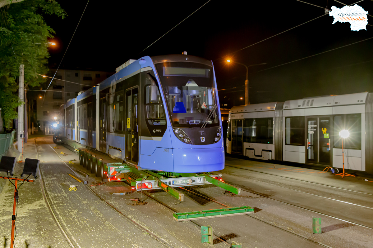Abladung Avenio 2501 aus München
