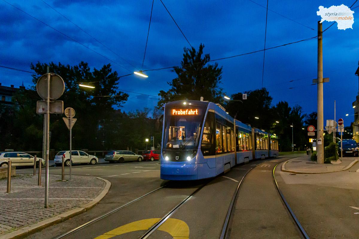 2501 Probefahrt - 14.08.2020 - Schloßbergbahn