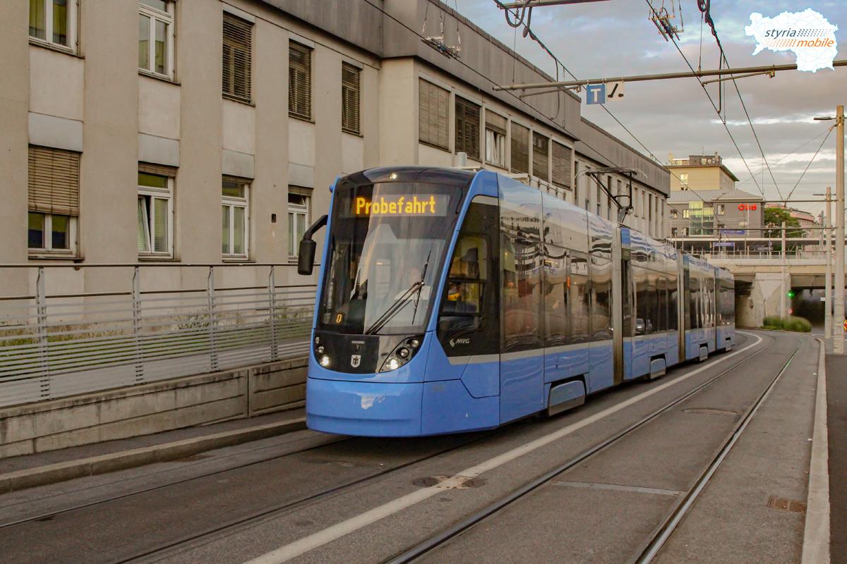 Avenio Testfahrten am Wetzelsdorfer Ast, 18.08.2020 ©529er