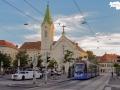 Avenio Testfahrten am Ast zur Med Uni, 19.08.2020 ©529er