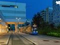 Avenio Testfahrten am Ast zur Med Uni, 19.08.2020