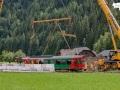 Bergung des VT 31 aus der Mur. 06.08.2021