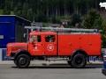 Der Ortskern von Murau war gesperrt, ein Feuerwehr Oldi war unterwegs