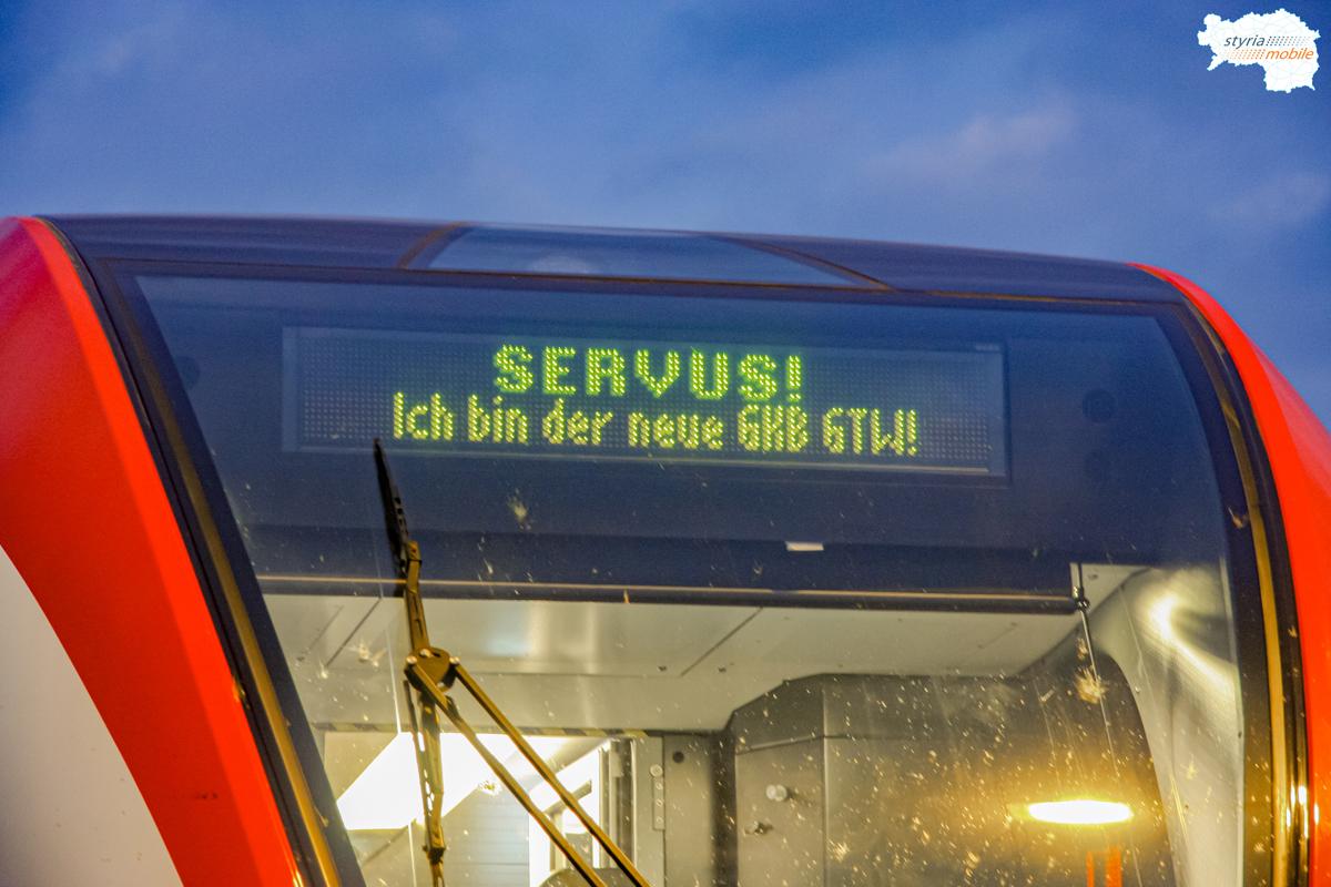 Ankunft GKB 5063 002 & 003 in Graz, 21.08.2010