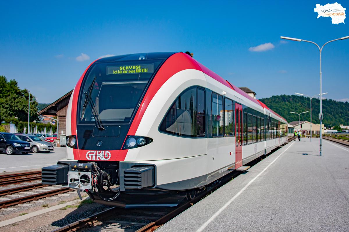 Erste Probefahrt nach Köflach, 23.08.2010 - 5063 003
