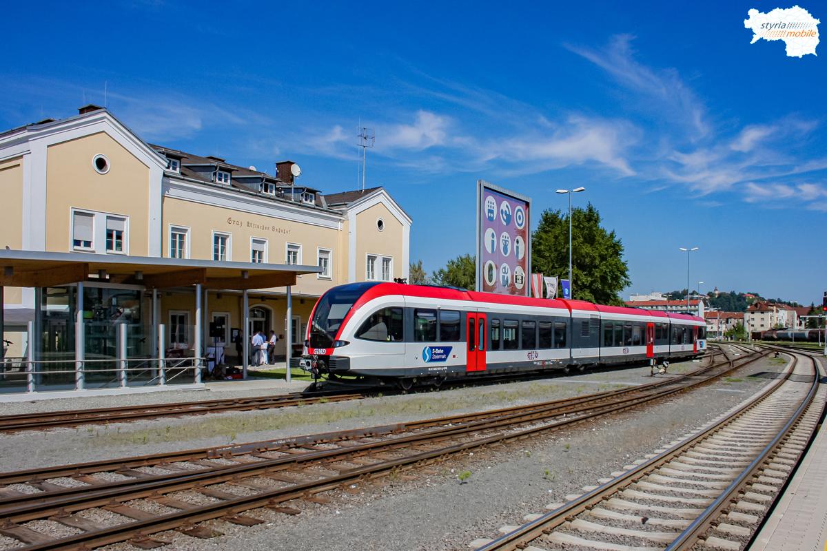 Erste Präsentation von 5063 003 am Graz Köflacherbahnhof, 26.08.2010