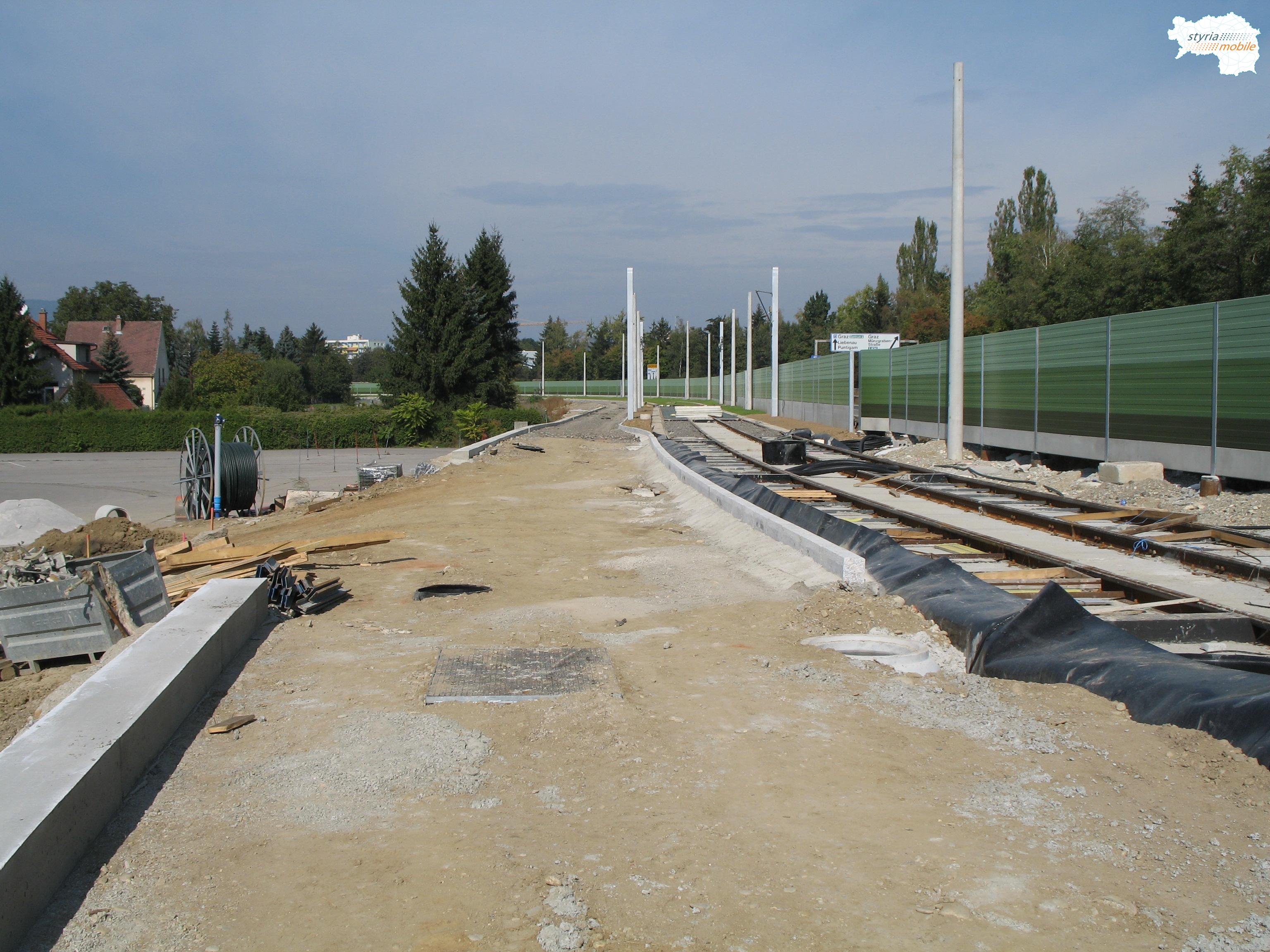 Verlängerung der SL 4 zum Murpark