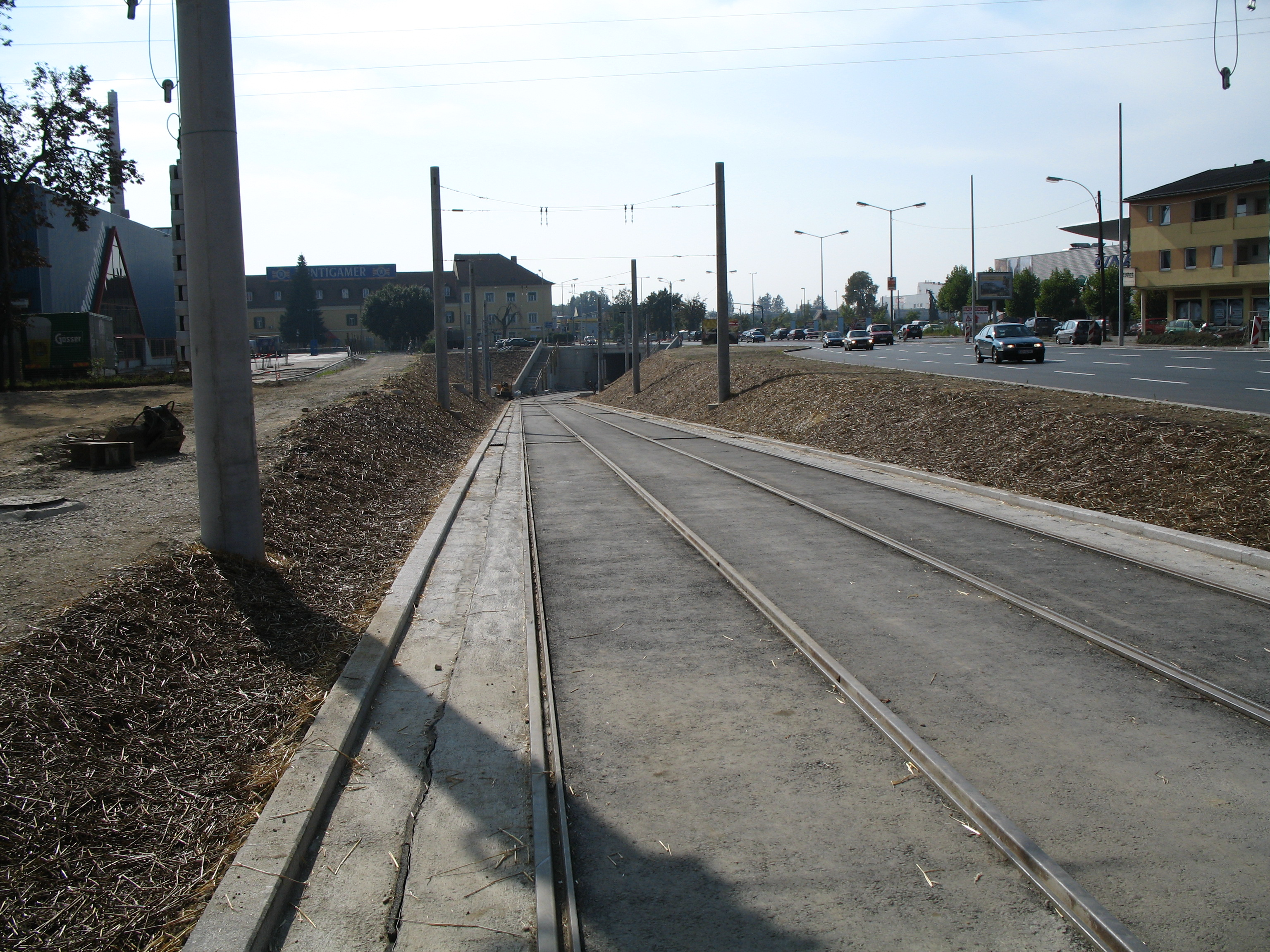 Verlängerung der Linie 5 zur NVD PuntigamVerlängerung der Linie 5 zur NVD Puntigam