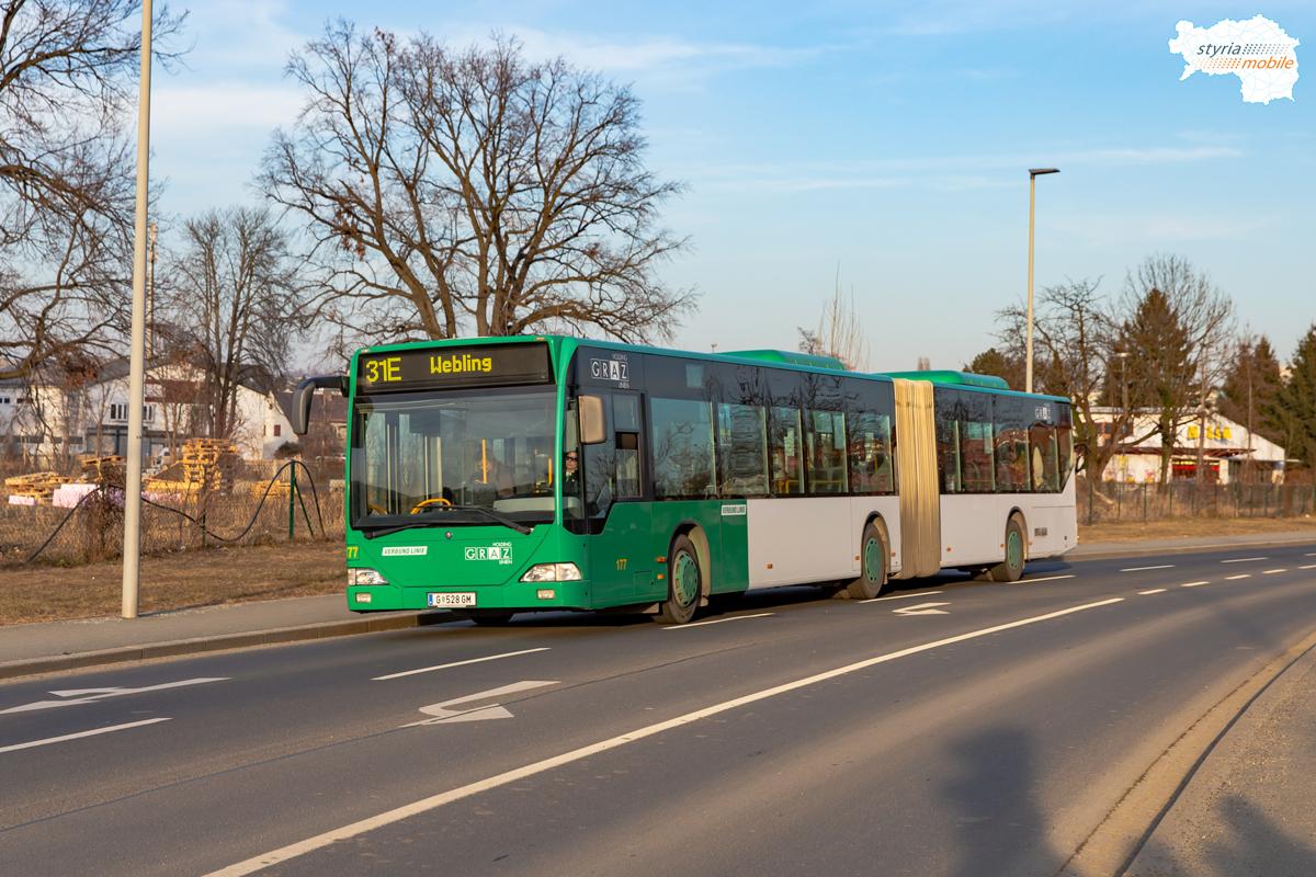 In der Peter-Rosseger-Straße fuhr ein C1, 09.02.2019