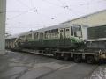 Am 13.01.1999 wird TW 601 nach Wien gebracht
