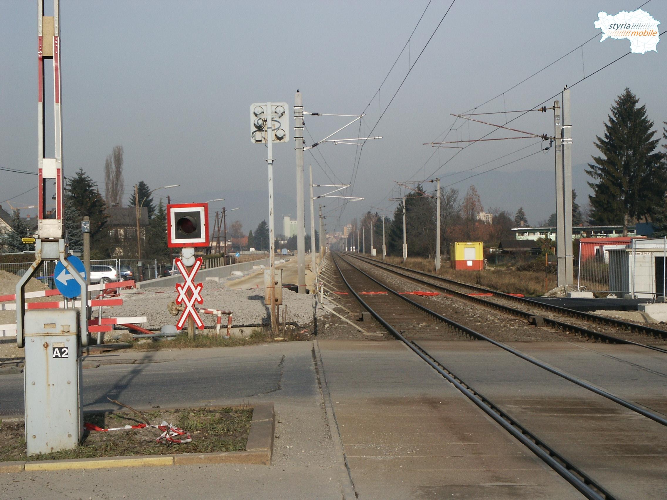Bahnunterführung Kapellenstraße