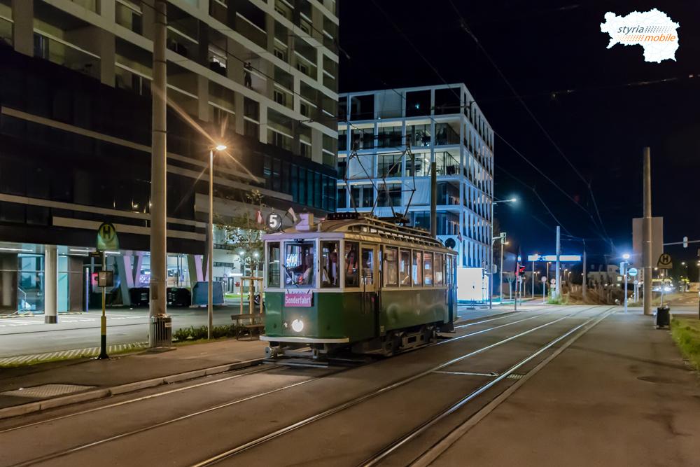 """Fotosonderfahrt """"Auf den Spuren der ersten Elektrischen in Graz"""""""