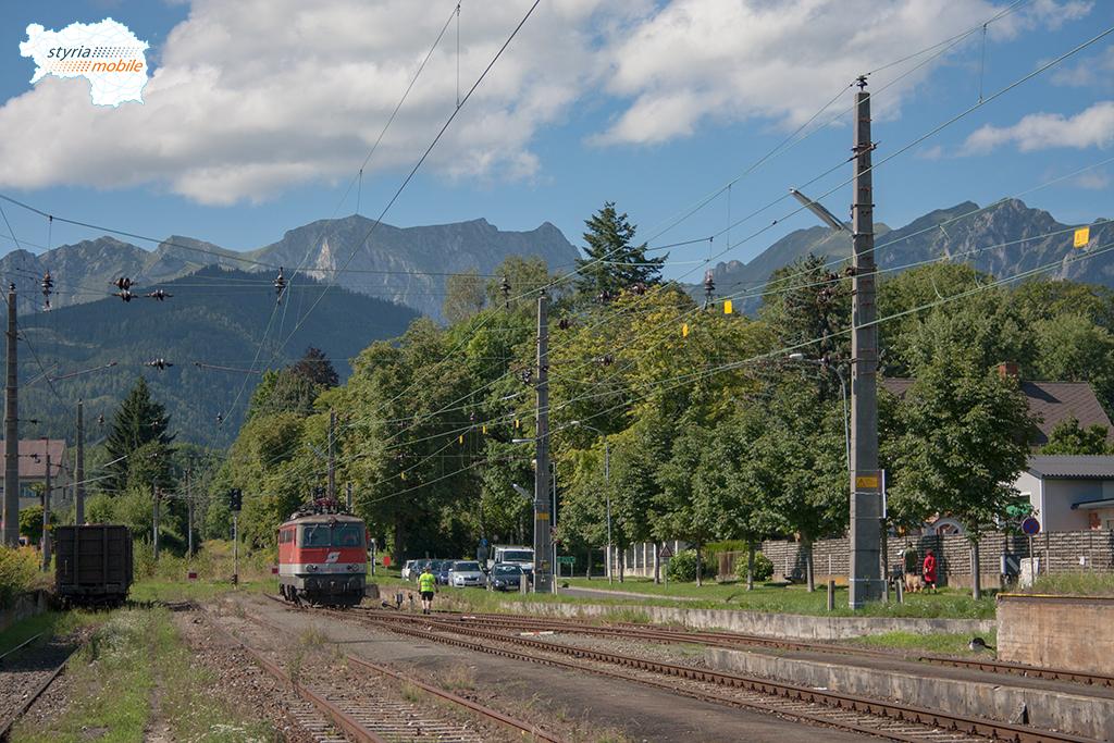 Ende der Strecke in Trofaiach 16.08.2010
